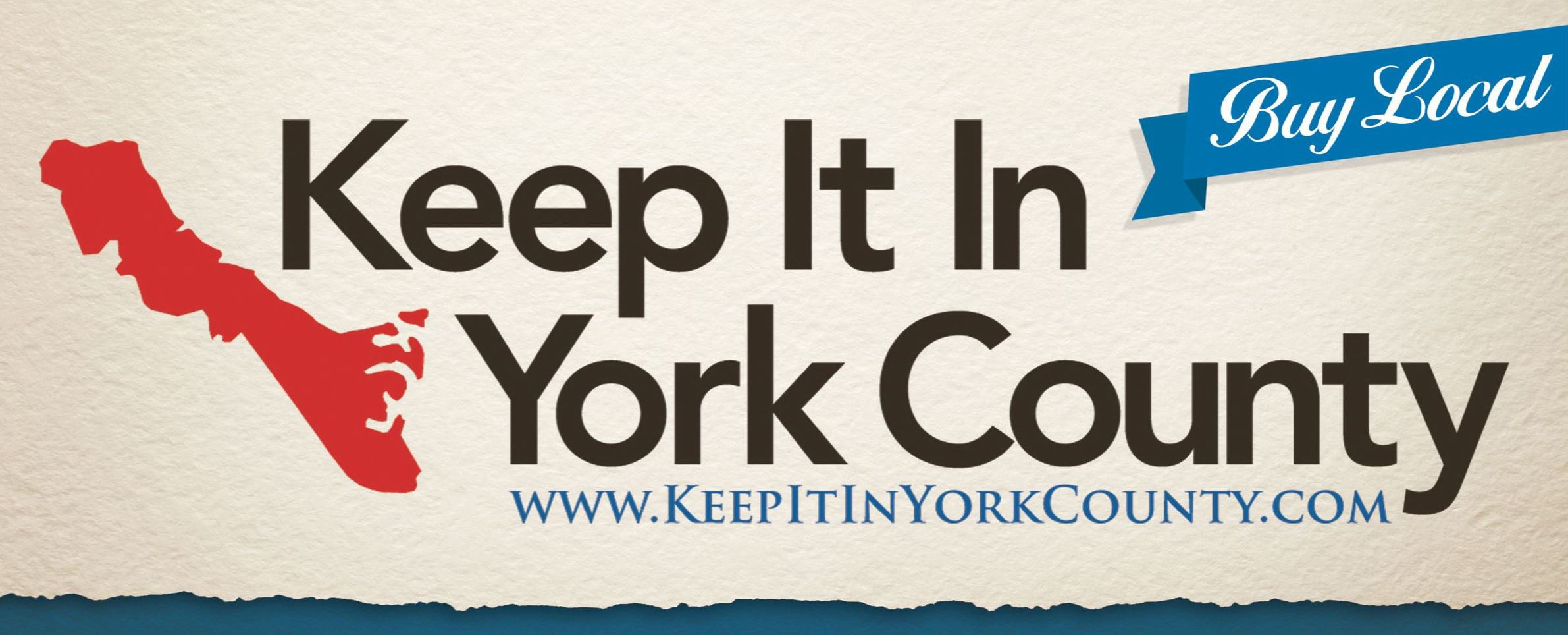 Keep It In York County logo